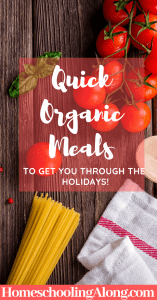 10 quick organic meal ideas