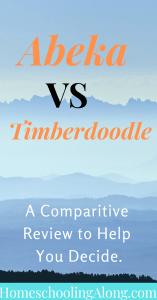 abeka vs timberdoodle