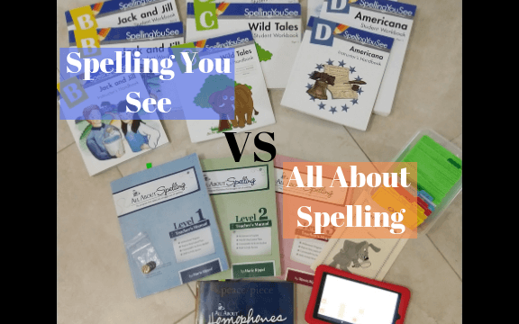 spelling you see vs all about spelling