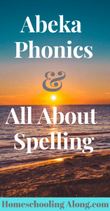 abeka phonics and all about spelling