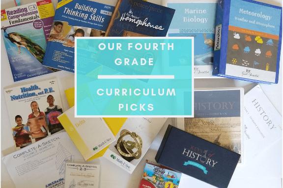 4th grade curriculum picks
